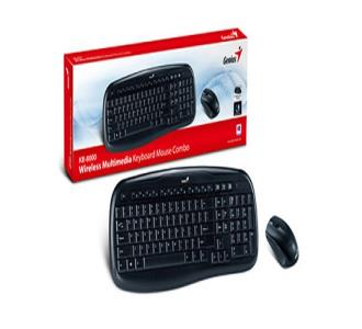 Combo Keyboard Mouse Wireless Genius KB-8000
